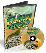 27 Ways To Generate An Extra 100 Dollars Per Month