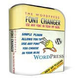 Wordpress Font Changer Plugin
