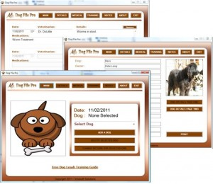 Dog File Pro Software and Extras