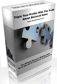 Triple Your Profits With The Truth About Backend Sales