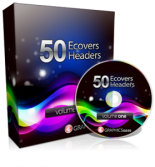50 eCovers & Headers Design Package