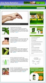 Aloe Remedies Niche Blog