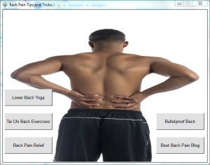 Back Pain Tips & Tricks