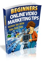 Beginners Online Video Marketing Tips