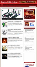 Christmas Lights Business Niche Blog