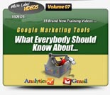 Google Marketing Tools Video Tutorials