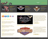 Harley Website Template