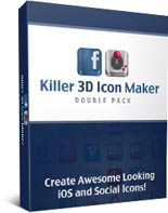 Killer 3D Icon Maker Double Pack