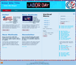 Labor Day Website Templates (3)