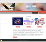 Labor Day Website Templates (4)