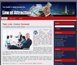 Law Of Attraction Website Templates