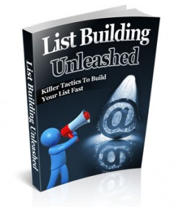 List Building Unleashed