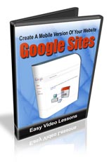 Create Mobile Optimized Sites Using Google Sites