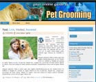 Pet Grooming Website Templates