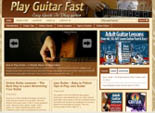 Play Guitar Fast Blog Theme