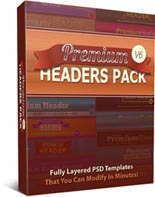 Premium Headers Pack V6