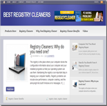 Registry Cleaner Niche Blog