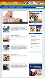 Sleep Apnea Niche Blog
