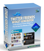 Twitter Friends Widget