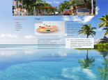 Vacation Website Template