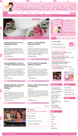 Wedding Plans Niche Blog