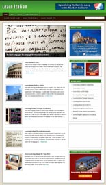 Learn Italian Niche Blog