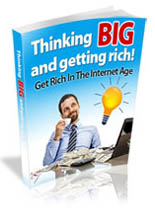 Thinking Big and Getting Rich plr
