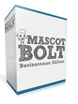 Mascot Bolt Businessman Edition