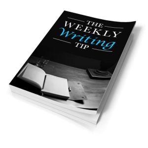 Weekly Writing Tips > Personal Use Ebook