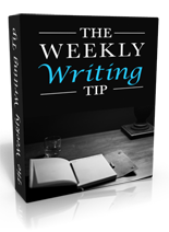 The Weekly Writing Tip