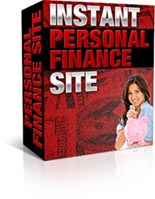 Instant Personal Finance Site