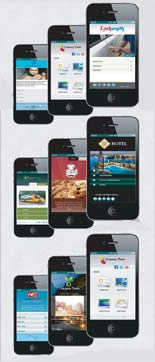 Mobile Website Templates