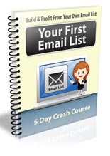 Your First Email List eCourse