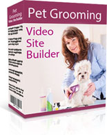 Pet Grooming Video Site Builder