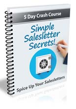 Simple Salesletter Secrets eCourse