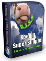 Keep It Super Simple Squeeze Page Software