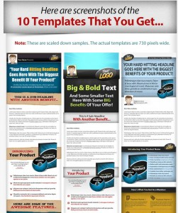 Visual Sales Page Templates