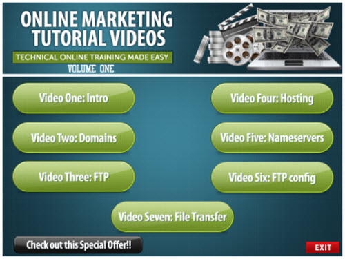Online Marketing Training Videos