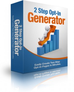 Two-Step Optin Generator