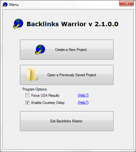 Backlinks Warrior