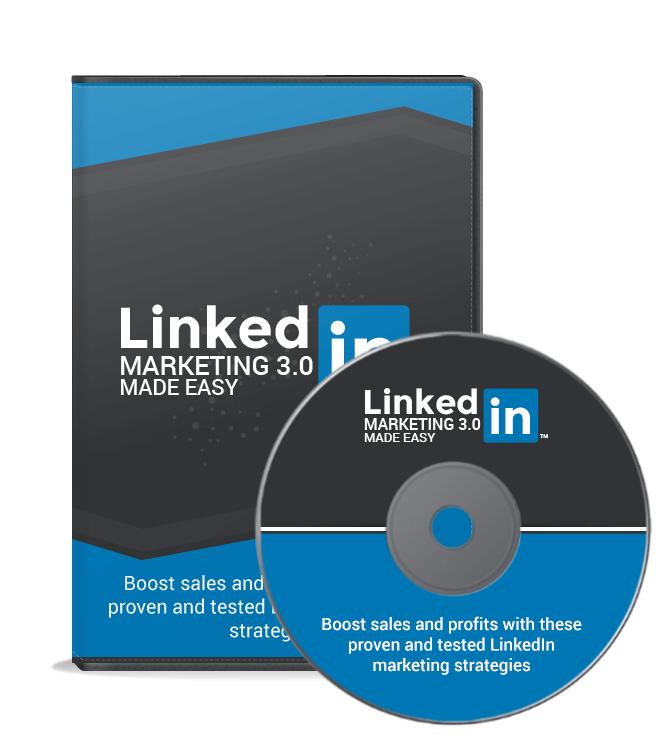 LinkedIn Marketing 3.0 Made Easy Video Upgrade