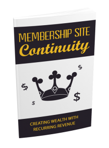 Membership Site Continuity Gold Upgrade