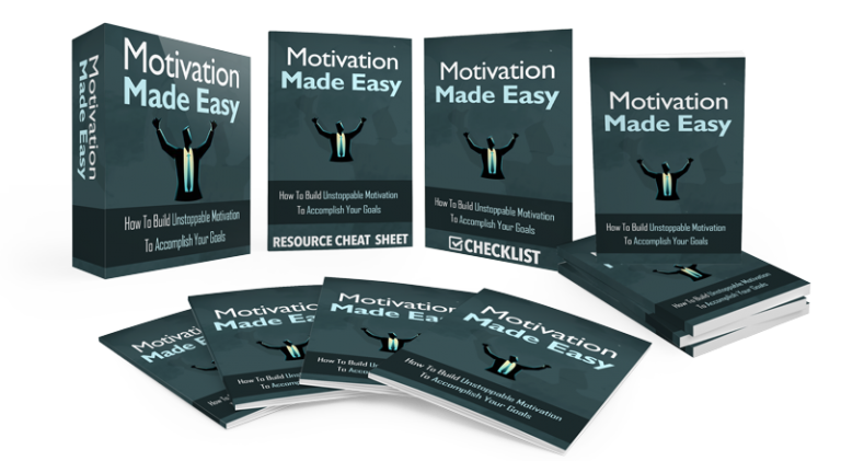 Motivation Made Easy Gold Upgrade