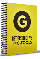 Get Productive With G Tools - Week of October 2nd, 2017