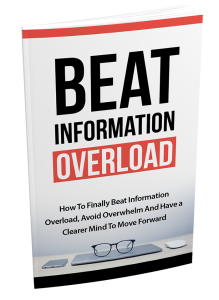 Beat Information Overload – Week of 19th March