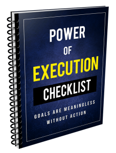 Power Of Execution – Week of 9th April