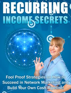 Recurring Income Secrets – Month of September