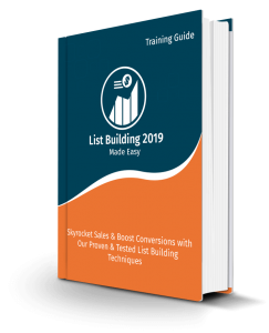 List Building Made Easy 2019